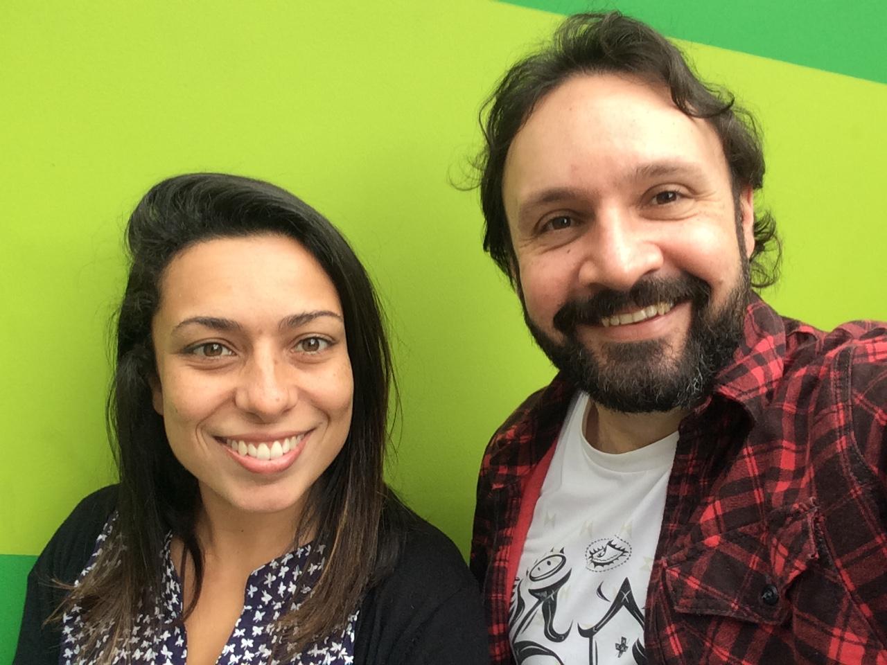 Resultado de imagem para Rafael Públio e Aline Morais da Santa Causa