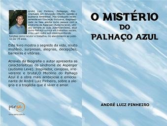 Capa do livro O Mistério do Palhaço Azul