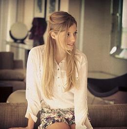 Foto de Paola sorrindo