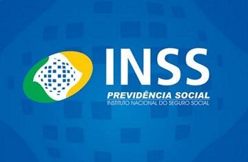 Foto do logotipo do INSS