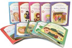Foto das capas dos livros infantis