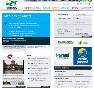 Foto do site do Governo do Paraná