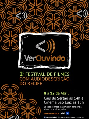 Foto do cartaz do Festival VerOuvindo