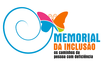 Foto do logo do Memorial da Inclusão