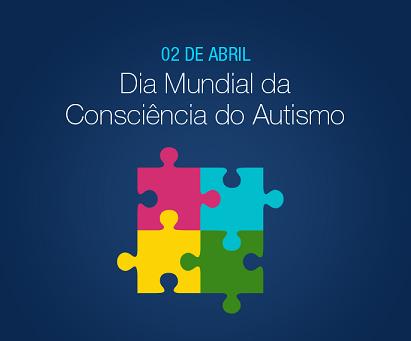 Foto de um quebra-cabeças colorido, símbolo do autismo
