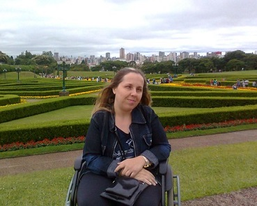 Foto de Cáren em Curitiba
