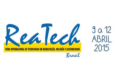 Foto do logo da Reatech 2015