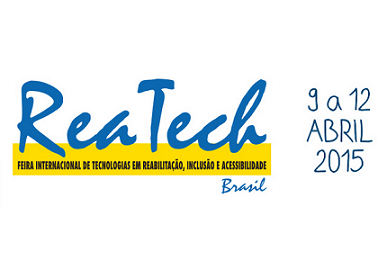 Foto do logo da Reatech 2015