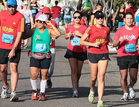 Foto de pessoas correndo na Unifor