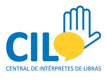 Foto do logo da Central de Interpretação de Libras