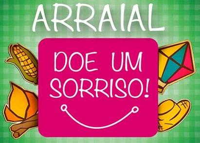 Foto do logo do arraial