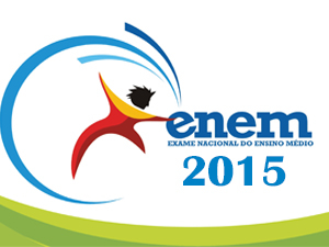 Foto do logo do Enem 2015