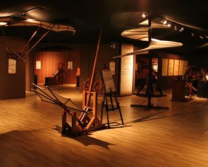 Foto de parte da exposição