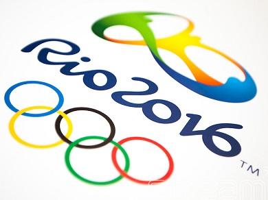 Foto do símbolo dos Jogos Olímpicos de 2016