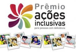 Imagem do logotipo do Prêmio - um catavento com fotos