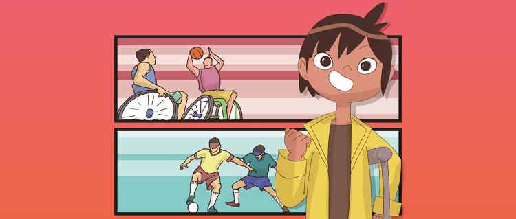 Capa do livro Heróis e o espírito esportivo