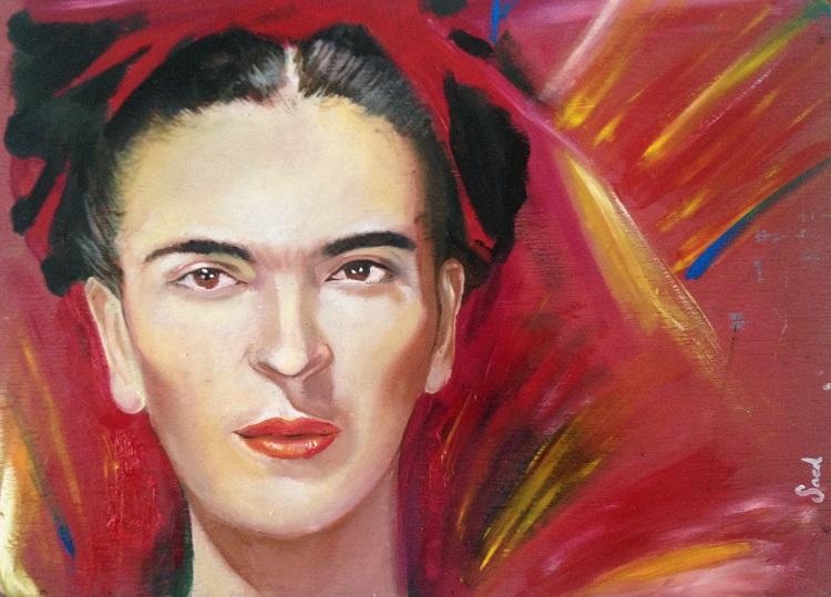 Saed de los Santos - Frida Kahlo