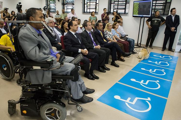 Inauguração do Centro Tecnologia e Inclusão.
